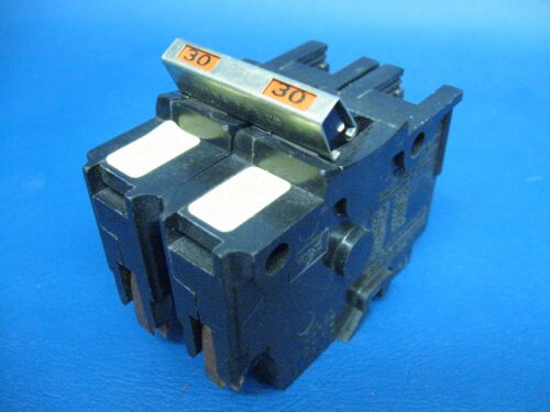 30A FEDERAL PACIFIC Stab-Lok 2 single pole with tie bar 30 Amp Type NA Breaker