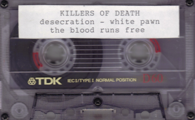 KILLERS OF DEATH 3 TRACK XIAN THRASH METAL DEMO 1990?