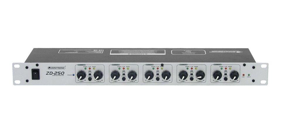 Zone Distributor, Omnitronic ZD-250