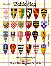 Battle Flag - Sergeant Shields (Battle Damaged) (Early Medieval) - 28mm