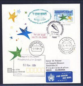 44515) Irlande Ryanair Ff Alicante-frdhfn 31.10.09 Zeppelin Nt à Partir De France 1-afficher Le Titre D'origine