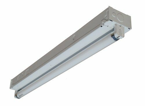 24 Commercial Fluorescent Single 2 FT Strip Light Operates 1 X F17t8 ...
