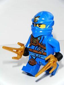 NEW LEGO GENUINE OFFICIAL NINJAGO JAY MINIFIGURE BLUE NINJA 70749 & WEAPONS