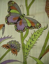 Handmade 100% Cotton Butterfly Floral Print Tapestry Tablecloth Spread 88x104