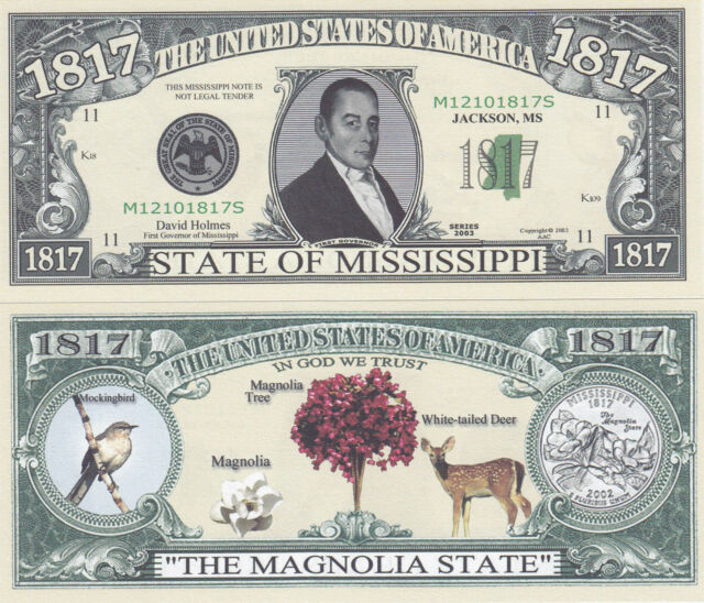 1864 U.S.A State of Nevada NV Novelty Notes Bills 1 5 25 50 100 500 or 1000