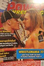 Power Wrestling 04/2006 WWE WWF TNA + 2 Poster (Wrestlemania 22, Edge)