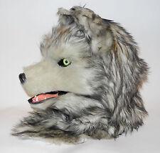 Maske Tiermaske Wolf bewegliches Maul
