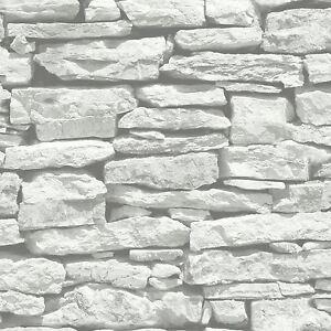 Marocain-Mural-Blanc-Ardoise-Papier-Peint-Arthouse-623009-Briques-Decor