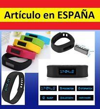 Pulsera MULTIFUNCION Reloj + PODOMETRO medidor andar bluetooth distancia fitness