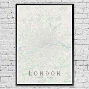 LONDON-Map-Print-UK-Wall-Art-Poster-City-Map-Wall-Decor-A3-A2-A1