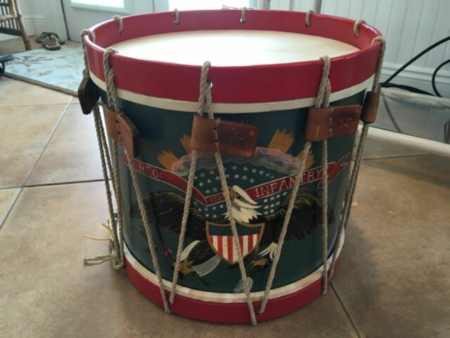 Civil War drum cord  40 foot length 6mm diameter polished hemp rope