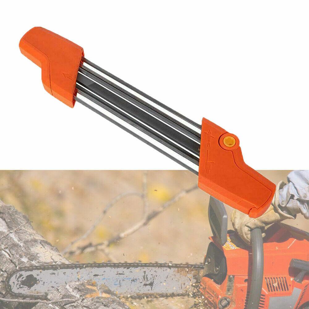 2 in1 Quick Easy Schleiffeile Chainsaw Schärfer 3//8/'/'4.0mm Passend STIHL @97k