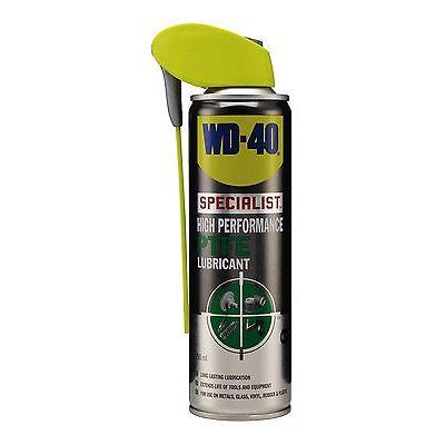 WD-40 44451 Specialist High Performance PTFE Lubricant 250ml Smart Straw Garage
