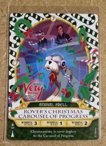 ROVER Carousel of Progress MVMCP Party Card Disney Sorcerer Of The Magic Kingdom