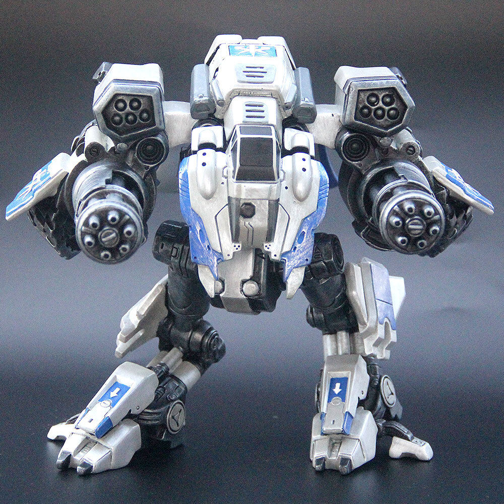 StarCraftⅡ Viking Armored Mechanical Hybrid Assault Mode Mode Mode Statue Figure Gift Hot 1aa0e2