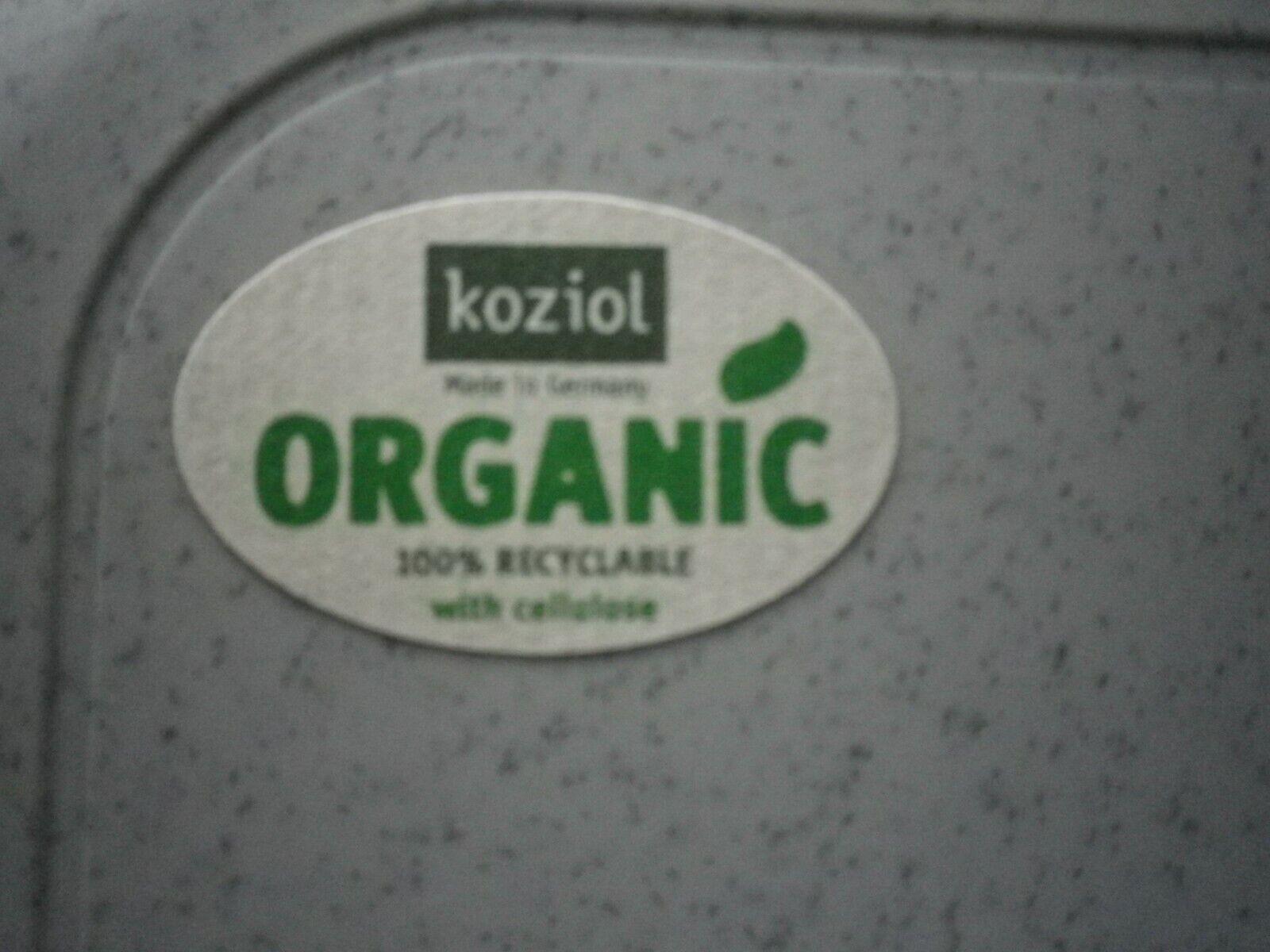 Koziol Lunchbox PASCAL S organic Brot Dose Büchse Schule Rügenwalder Iss mir Wur