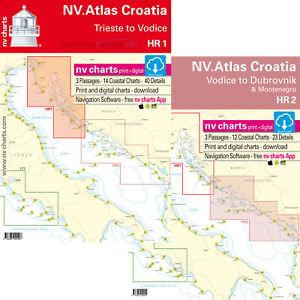 Seekarten Kroatien Adria Nv Verlag Hr1 Oder Hr2 Neuste Ausgabe