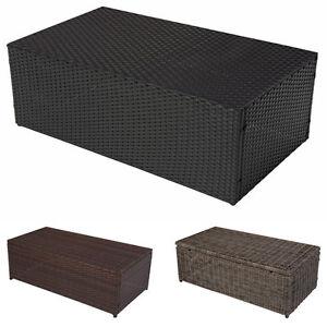 alu couchtisch romv gartentisch loungetisch poly rattan 37x111x58cm. Black Bedroom Furniture Sets. Home Design Ideas