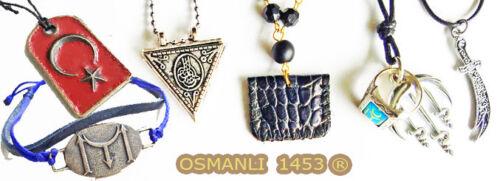 Cevsen Muska Chain Ayyildiz Türkiye Osmanli 1453 zülfikar Ataturk göktürk k6