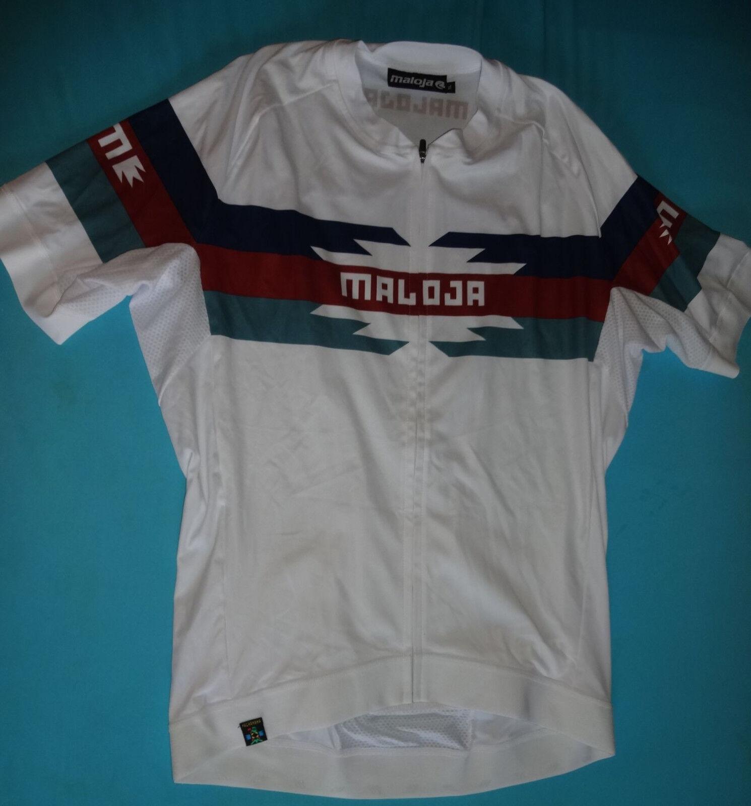 Maloja Rennrad Fahrrad MTB Trikot T-Shirt Gr. XL