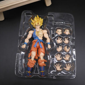 "Toy 6/"" S.H.Figuarts Dragon Ball Z Son Gokou Figure Super Warrior Awakening Ver"