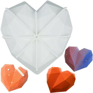 Baking-Tool-Chocolate-Molds-Heart-Shape-Mold-Diamond-Cake-Mold-Silicone-Mould