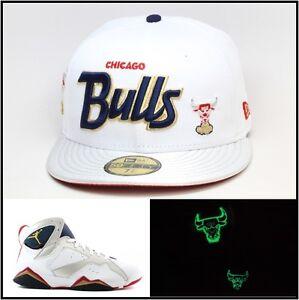 New Era Chicago Bulls Fitted Hat Jordan Olympic 7 Tinker Alternate ... 91954fda5