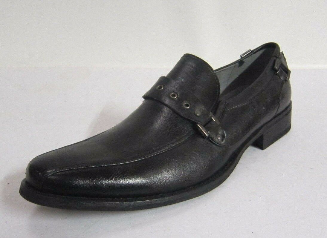 A1021 - Mens Slip GASS Black Synthetic Uppers Slip Mens On Shoes- Great Price 77207d