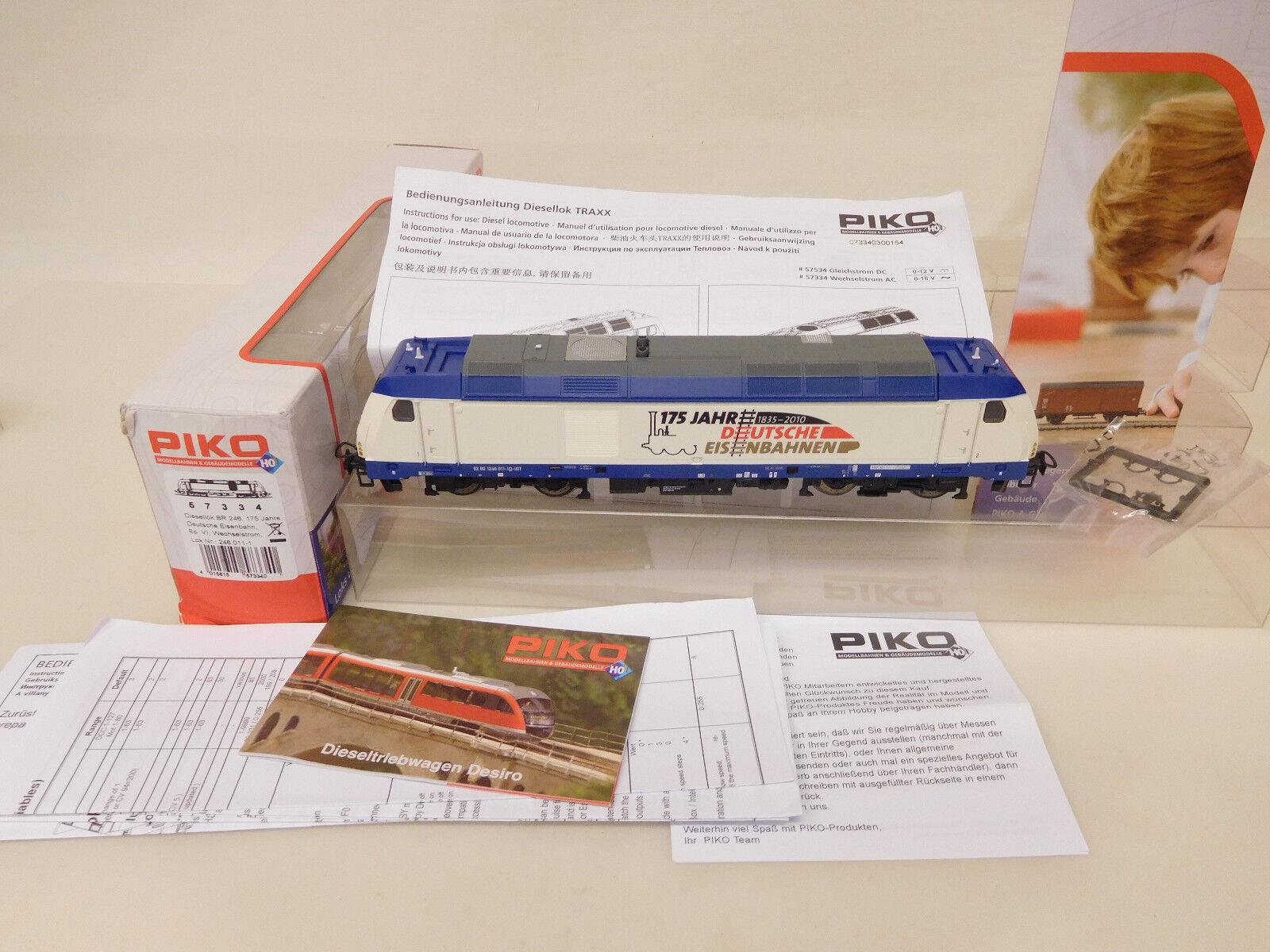 Mes-56865 PIKO 57334 h0 AC DIESEL TRAXX 246 011-1