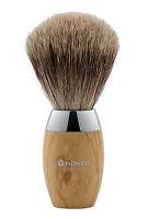 Böker Boker Solingen Shaving Brush Olive Wood Badger Hair Nip