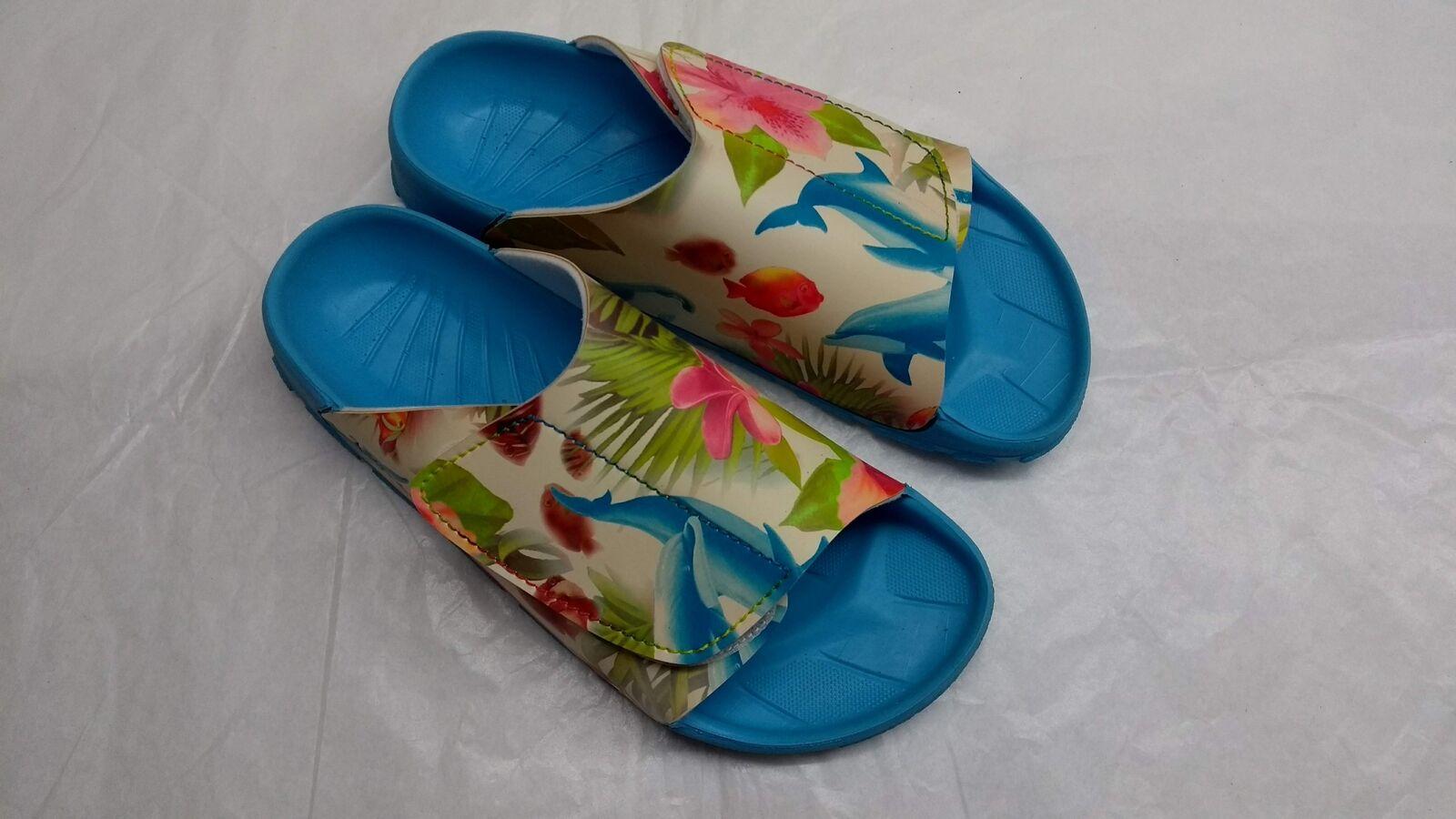 Birkis Samoa Slipper señora sandalia turquesa Lagoon 115433 white nuevo 115433 Lagoon 48277a