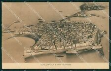 Lecce Gallipoli PIEGHINA cartolina XB1541