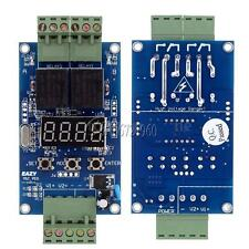 Dc 12v Dual Programmable Relay Cycle Delay Timer Timing Clock Switch Module