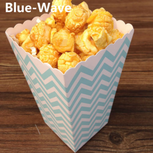 Movie Supplies Birthday Decoration Candy Case Paper Bag Popcorn Box Theme Party