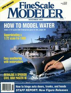 Dealer Dave Magazines FINE SCALE MODELER, NOVEMBER 1993, NICE BACK ISSUE (209)