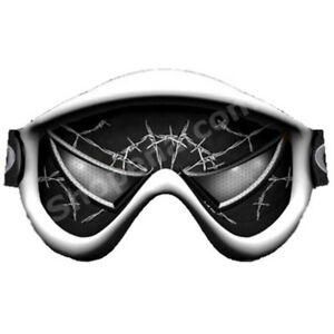 Venom Eyes Ski Dirt Bike MX Off Road Lens Goggle Sticker Tint Decal NEW +