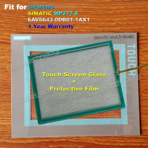 Protective Film New for SIEMENS MP277-8 6AV6643-0DB01-1AX1 Touch Screen Glass