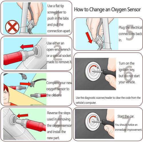 Upstream Oxygen Sensor For 15-17 Jeep Renegade ProMaster City Chrysler 200 2.4L