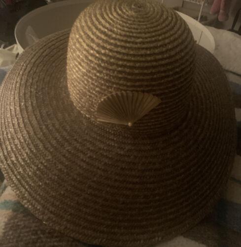 Gold Kokin Straw Hat