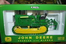 1/16 John Deere 1010 crawler dozer w/ ripper by Ertl, NICE!, Hard to find