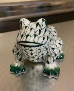 Fishnet Green White Frog - Andrea by Sadek
