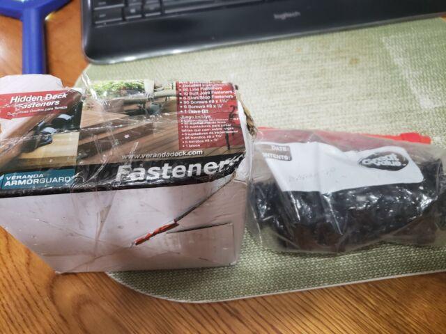 VERANDA Hidden Deck Fasteners for sale online | eBay