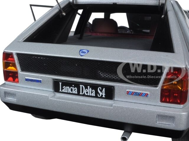 LANCIA DELTA S4 GREY 1 18 DIECAST MODEL CAR BY BY BY AUTOART 74772 266d7d