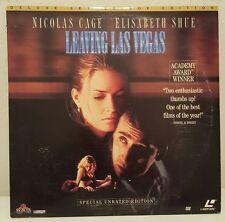 Laserdisc Leaving Las Vegas Nicholas Cage Elisabeth Shue Letter Box Edition