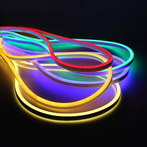 SMD 2835 Dimmbar 5mmx12mm LED Neon Strip Streifen Flex Lichterkette mit Remote