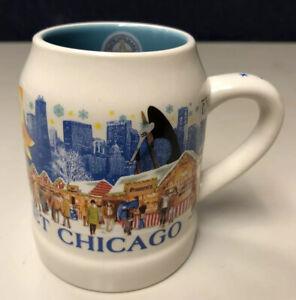 Chicago Christkindlmarket 2018 German Christmas Market Gluhwein Heart Shape Mug