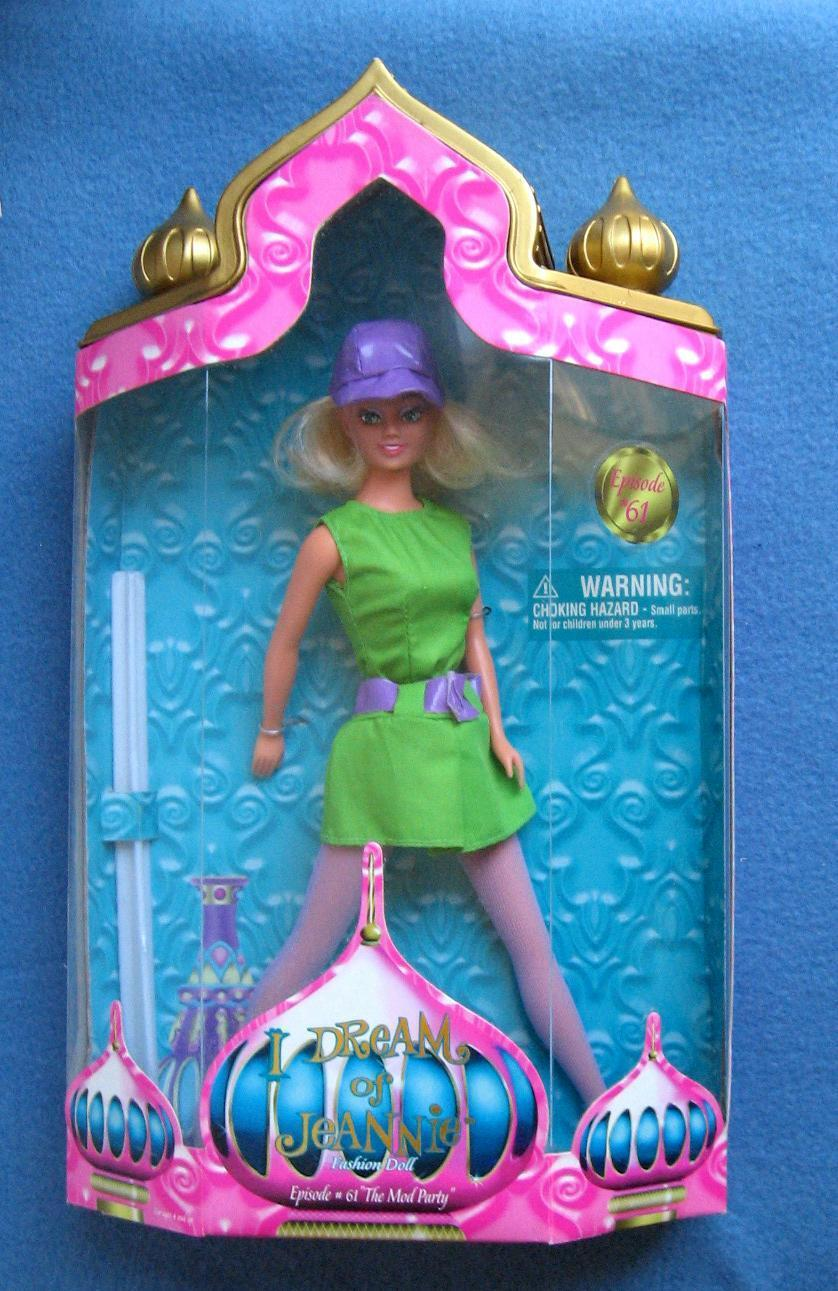 I DREAM OF JEANNIE EPISODE 61 THE MOD PARTY FASHION DOLL TRENDMASTERS
