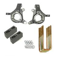 Chevy Lift Spindles Kit 1999 - 06 1500 Trucks 3 / 2 2wd Suspension Cast Blocks
