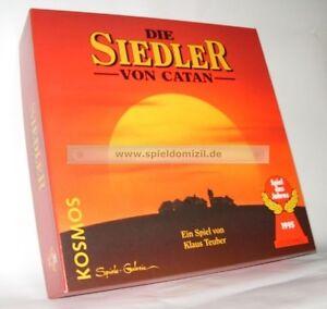 SIEDLER-von-CATAN-das-ORIGINAL-mit-HOLZFIGUREN-DER-Bestseller-TOP-RARITAT
