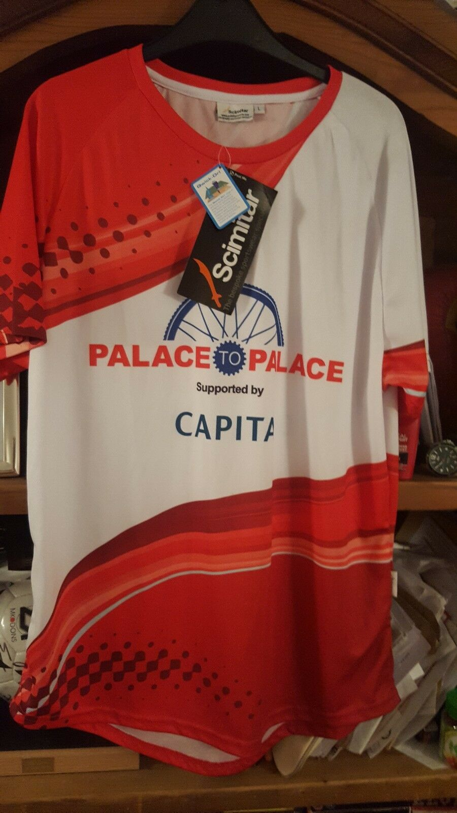 Jersey Size L New With Tags .PRO TEAM  PALACE TO PALACE PRINCES TRUST RARE SHIR